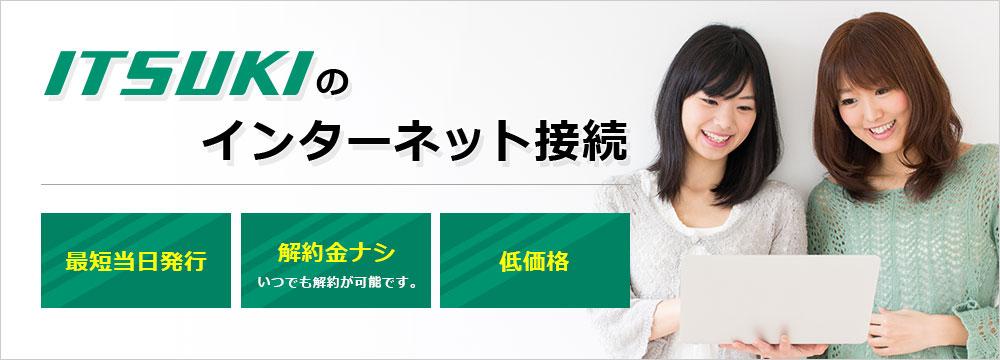 ITSUKIのインターネット接続